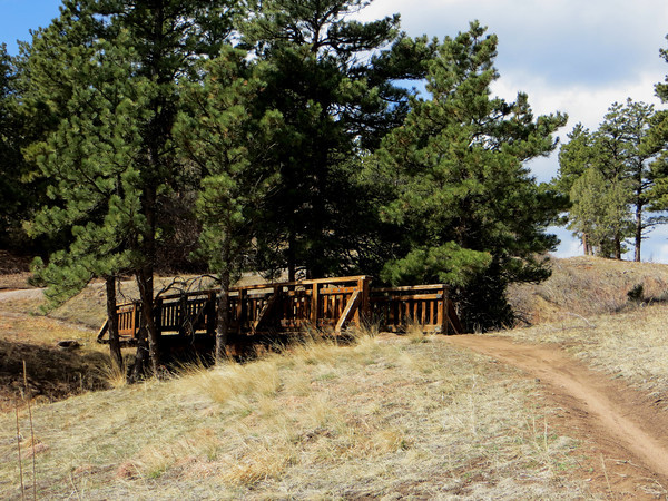 Beautiful bridge and Ponderosa Pines along the Nelson Loop Trail to the Nelson Homestead with  mountain views along the way. (Photo submitted by Ruth Klotz)<br /> To submit your reader photo send it to tcphotos@times-call.com with a brief description.
