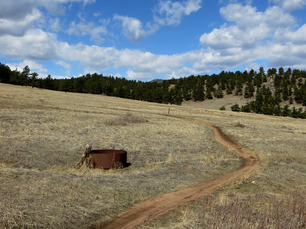 An old livestock water tank along the Nelson Loop trail Sunday, March 31 at Hall Ranch. (Photo submitted by Ruth Klotz) <br /> To submit your reader photo send it to tcphotos@times-call.com with a brief description.