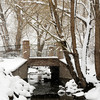 A wintry scene of a snowy bridge on Mariner Drive by Flanders Park, Monday afternoon April 15, 2013. (Photo submitted by Bob Looser)