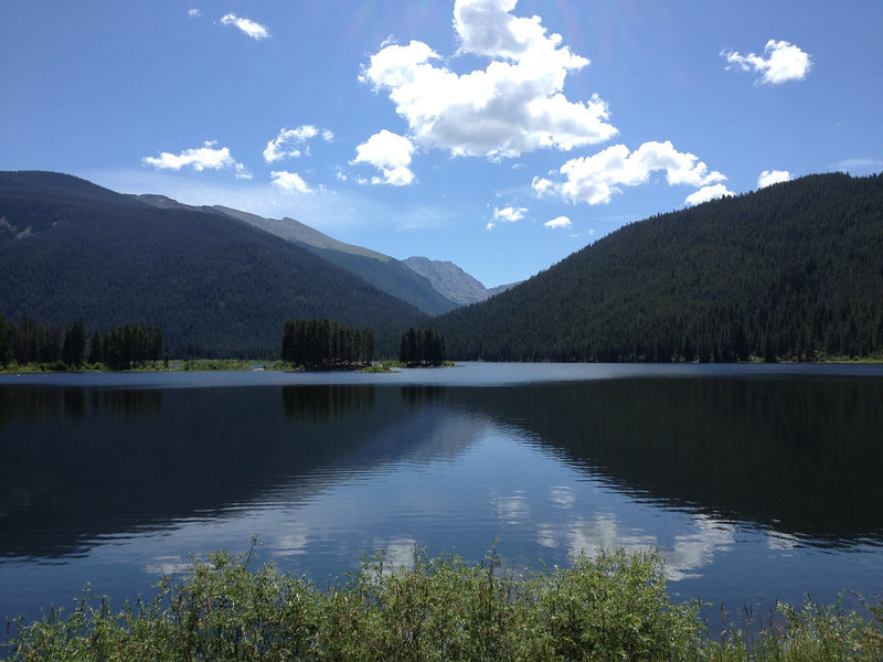 "Dene Yarwood described it as a ""gorgeous day"" when this photo was taken of Monarch Lake Saturday morning Aug. 10th. (Photo submitted by Dene Yarwood)"