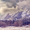 The Flatirons on Christmas Day. (Photo submitted by Alan Bogart)