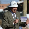 "Developer Cotton Burden speaks during the groundbreaking ceremony for the Roosevelt Park Apartments Tuesday morning Nov. 13, 2012. TO VIEW A VIDEO AND SLIDESHOW VISIT  <a href=""http://WWW.TIMESCALL.COM"">http://WWW.TIMESCALL.COM</a> (Lewis Geyer/Times-Call)"