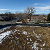 "The view looking west from a lift provided at the groundbreaking for the Roosevelt Park Apartments Tuesday morning Nov. 13, 2012. TO VIEW A VIDEO AND SLIDESHOW VISIT  <a href=""http://WWW.TIMESCALL.COM"">http://WWW.TIMESCALL.COM</a> (Lewis Geyer/Times-Call)"
