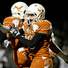 "Mead's Braden Ruddy (68) and Alex Mead celebrate after recovering a fumble during the game at Mead High School on Friday, Oct. 26, 2012.  For more photos and a video visit  <a href=""http://www.BoCoPreps.com"">http://www.BoCoPreps.com</a>.<br /> (Greg Lindstrom/Times-Call)"