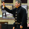 "Silver Creek head coach Bob Banning calls out a play during the game at Silver Creek High School on Friday, Dec. 21, 2012. Silver Creek beat Denver North 61-39. For more photos from the game visit  <a href=""http://www.BoCoPreps.com"">http://www.BoCoPreps.com</a> <br /> (Greg Lindstrom/Times-Call)"