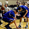 "Longmont's Austin Kemp, left, is consoled by teammate RJ Donaldson after missing a dunk attempt during the game at Silver Creek High School on Tuesday, Jan. 29, 2013. Longmont beat Silver Creek 65-34. For more photos visit  <a href=""http://www.BoCoPreps.com"">http://www.BoCoPreps.com</a>.<br /> (Greg Lindstrom/Times-Call)"
