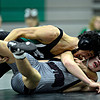 "Niwot's Matthew Strope, top, works against Daniel McLean during the dual meet at Niwot High School on Wednesday, Jan. 23, 2013. For more photos visit  <a href=""http://www.BoCoPreps.com"">http://www.BoCoPreps.com</a>. <br /> (Greg Lindstrom/Times-Call)"