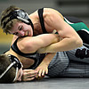 """Niwot's Austin Ivan, top, competes against Silver Creek's Patrick Murray during the dual meet at Niwot High School on Wednesday, Jan. 23, 2013. For more photos visit  <a href=""""http://www.BoCoPreps.com"""">http://www.BoCoPreps.com</a>. <br /> (Greg Lindstrom/Times-Call)"""