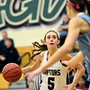 "Silver Creek's Emilie Rembert (5) looks to shoot during the game at D'Evelyn High School on Friday, March 1, 2013. Silver Creek beat Valor Christian 65-48. For more photos visit  <a href=""http://www.BoCoPreps.com"">http://www.BoCoPreps.com</a>.<br /> (Greg Lindstrom/Times-Call)"