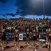 "Skyline cheerleaders try to pump up the crowd.  Thompson Valley beat Skyline 34-14 during the varsity football game at Everly-Montgomery Field on Thursday, Sept. 6, 2012.  For more photos visit  <a href=""http://www.TimesCall.com"">http://www.TimesCall.com</a>.<br /> (Greg Lindstrom/Times-Call)"