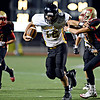 "Thompson Valley's Spencer Shook stiff arms Skyline's Gage Repplinger (33) on his way to a touchdown during the first half.  Skyline faces Thompson Valley during the varsity football game at Everly-Montgomery Field on Thursday, Sept. 6, 2012.  For more photos visit  <a href=""http://www.TimesCall.com"">http://www.TimesCall.com</a>.<br /> (Greg Lindstrom/Times-Call)"