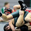 "Niwot's Fernando Velasco-Ramirez, bottom, competes against Skyline's Braden Richards during the match at Niwot High School on Wednesday, Jan. 9, 2013. For more photos visit  <a href=""http://www.BoCoPreps.com"">http://www.BoCoPreps.com</a>.<br /> (Greg Lindstrom/Times-Call)"