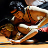 "Skyline's Abel Rivera, bottom, competes against Mead's Hugo Ramirez during the dual meet at Mead High School on Wednesday, Jan. 24, 2013. For more photos visit  <a href=""http://www.BoCoPreps.com"">http://www.BoCoPreps.com</a>.<br /> (Greg Lindstrom/Times-Call)"
