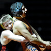 "Skyline's Clark Roylance, left, competes against Mead's Justice Lovato during the dual meet at Mead High School on Wednesday, Jan. 24, 2013. For more photos visit  <a href=""http://www.BoCoPreps.com"">http://www.BoCoPreps.com</a>.<br /> (Greg Lindstrom/Times-Call)"