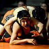 "Skyline's Abel Rivera struggles against Mead's Hugo Ramirez during the dual meet at Mead High School on Wednesday, Jan. 24, 2013. For more photos visit  <a href=""http://www.BoCoPreps.com"">http://www.BoCoPreps.com</a>.<br /> (Greg Lindstrom/Times-Call)"
