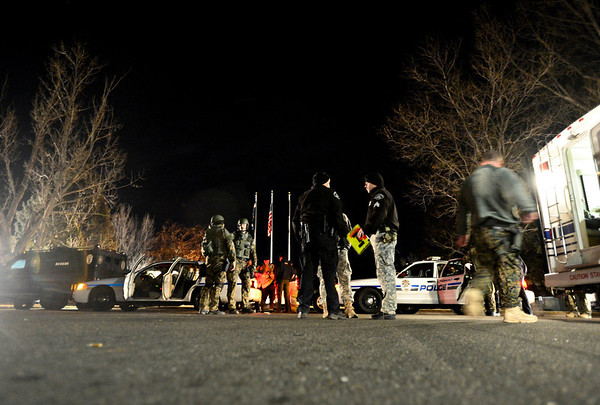 "Police at Countryside Village of Longmont on Tuesday, Jan. 22, 2013. For more photos and a video visit  <a href=""http://www.TimesCall.com"">http://www.TimesCall.com</a>.<br /> (Greg Lindstrom/Times-Call)"
