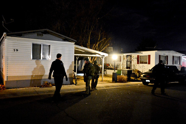 """Police at Countryside Village of Longmont on Tuesday, Jan. 22, 2013. For more photos and a video visit  <a href=""""http://www.TimesCall.com"""">http://www.TimesCall.com</a>.<br /> (Greg Lindstrom/Times-Call)"""