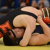 Frederick's David Yang is controlled by Erie's William Schell in their 145 pound match during the Tri Valley League wrestling tournament Saturday Feb. 02, 2013 at Frederick High School. (Lewis Geyer/Times-Call)