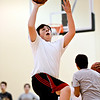 """Robert McBeth goes up for a shot during basketball practice at Twin Peaks Charter Academy on Friday, Jan. 4, 2013. For more photos visit  <a href=""""http://www.BoCoPreps.com"""">http://www.BoCoPreps.com</a>.<br /> (Greg Lindstrom/Times-Call)"""