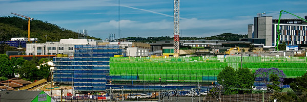 Gosford Hospital building progress  November 13,  2018.   (h67ed)