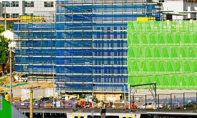 Gosford Hospital building progress November 27, 2018.  (h69ed)