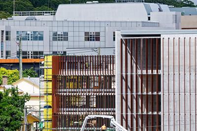 Gosford Hospital building progress December 18, 2018.  (h77ed)