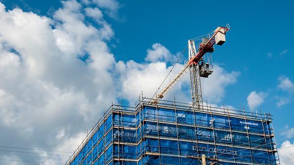 Blue Sky Construction at Gosford. September 2018. (ne)