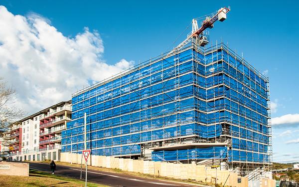 Building Perspevtive view at Gosford. September 2018. (ne)
