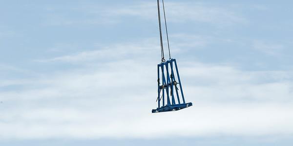 Working construction crane. Update ne171 .