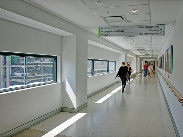 Gosford Hospital new wing. H36ed September 2018.