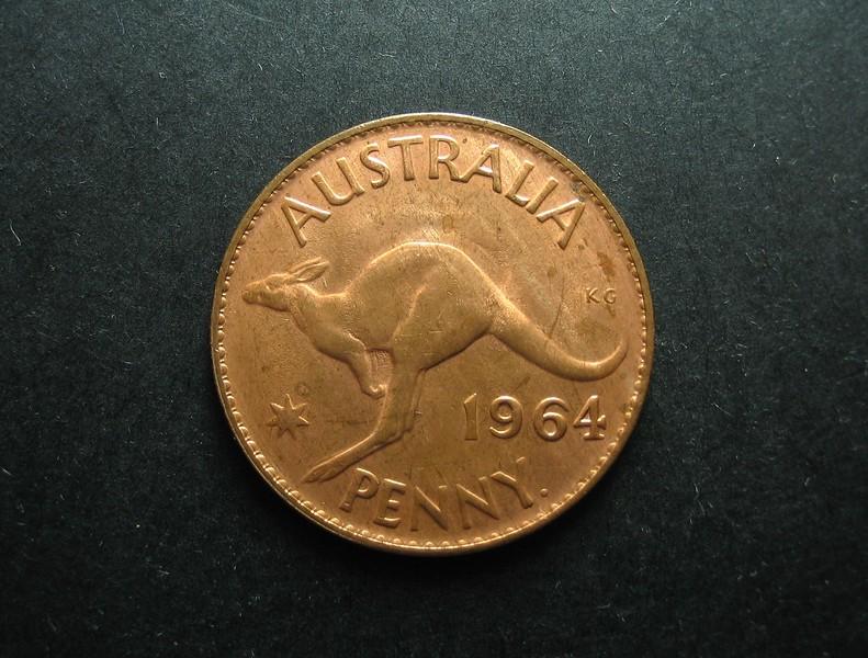 Vintage pre-decimal Australian  Penny.