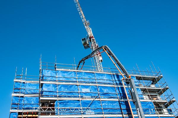 Building progress 101. At 47 Beane St. Gosford. July 2018.