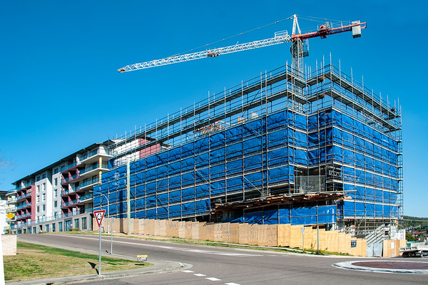 Building progress 115. At 47 Beane St. Gosford. August 2018.