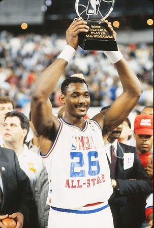 1710 MALONE, KARL 1989 ALL STAR MVP HOUSTON