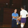 1841 RILEY, PAT WITH MITCH KUPCHAK, PRACTICE