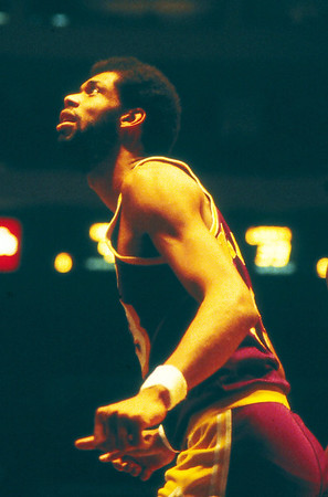 KAREEM (55) AT MSG 1980
