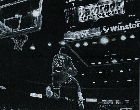 JORDAN, MICHAEL 1988 SLAM DUNK CONTEST  (287)