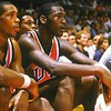 JORDAN (217 A) 1984 USA BASKETBALL BENCH ALVAN ROBERTSON 1