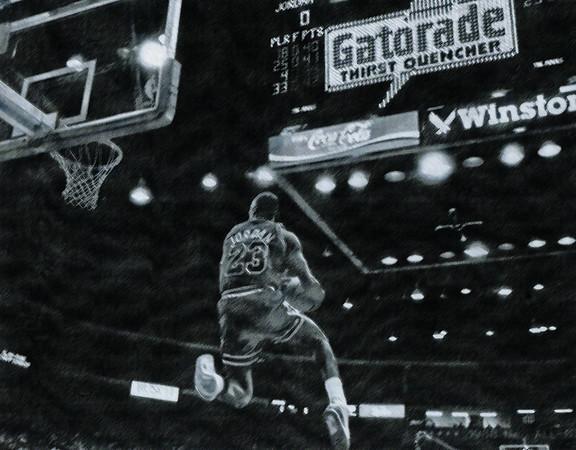 JORDAN, MICHAEL 1988 SLAM DUNK CONTEST  (285)