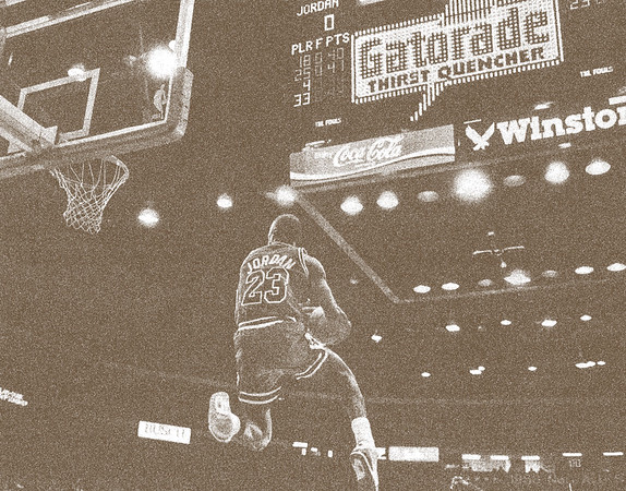 JORDAN, MICHAEL 1988 SLAM DUNK CONTEST  (288)
