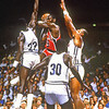 JORDAN (214) 1984 USA MENS TEAM VS  NBA