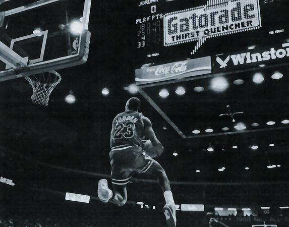 JORDAN, MICHAEL 1988 SLAM DUNK CONTEST  (286)