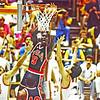 JORDAN (221) 1984 OLYMPIC GOLD MEDAL GAME USA VS  SPAIN PS