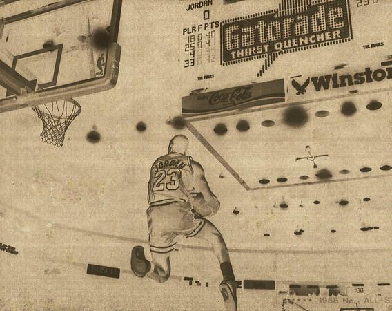 JORDAN, MICHAEL 1988 SLAM DUNK CONTEST  (290)