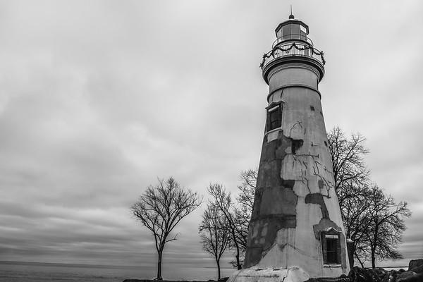 Lighthouse Black & White