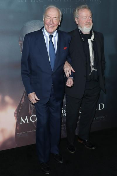 Christopher Plummer, Ridley Scott
