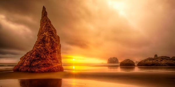 Bandon Beach. Oregon