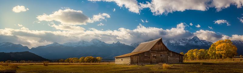Moulton Barn, Wyoming