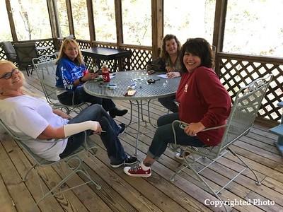 With Deb Fillingim, Brenda Bell, Deborah Bishop Wilder and Vicky Vail.
