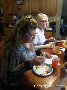 Deborah Bishop Wilder and Deb Fillingim.